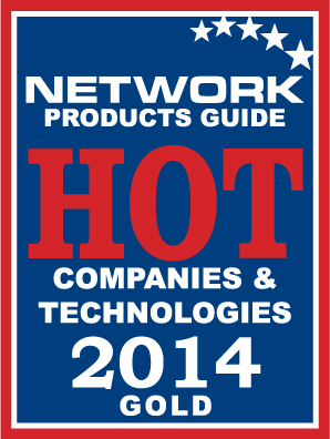 Network Products Guide Awards Hot Company (Gold) - 2014