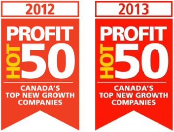 Profit Magazine's Hot 50, 2012 & 2013