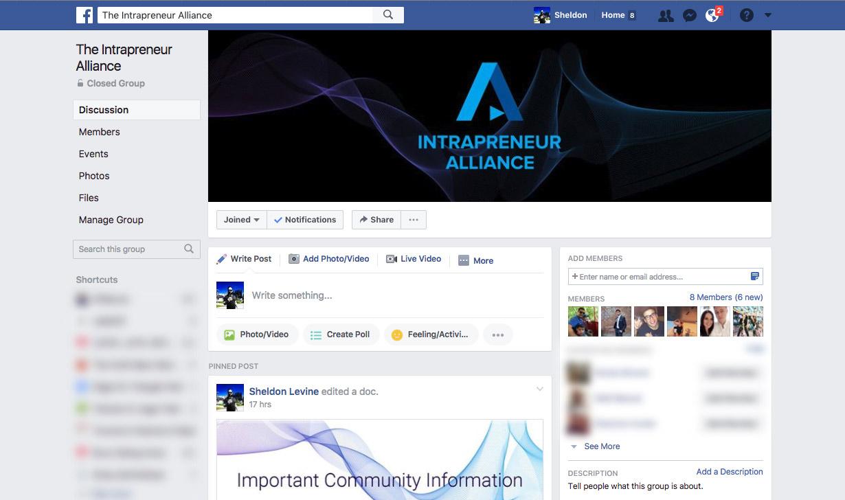 IA on Facebook