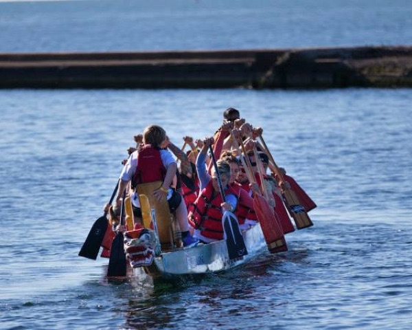Dragon boat event